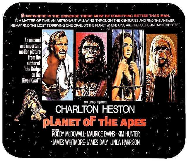PLANET OF THE APES MOUSE PAD