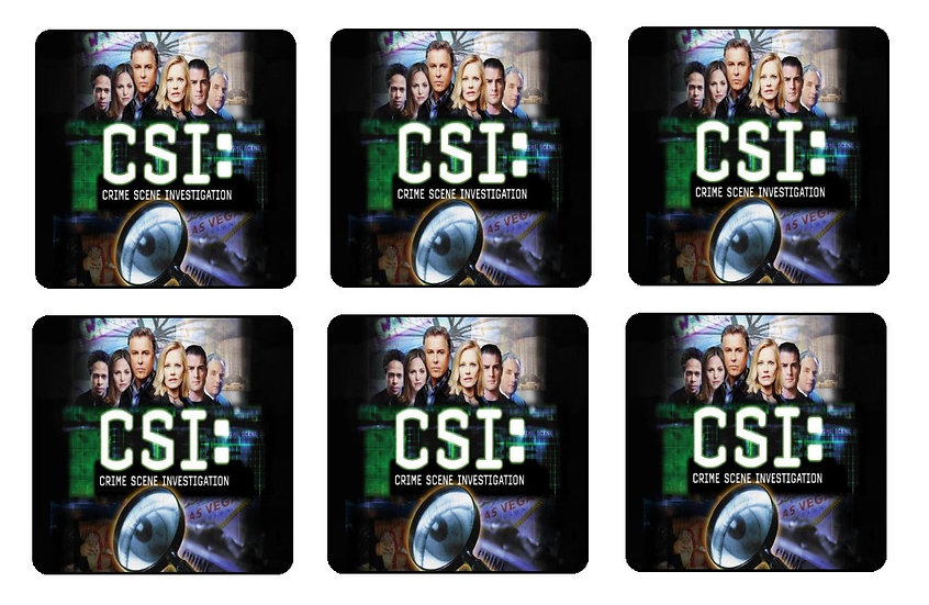 CSI BEVERAGE COASTERS