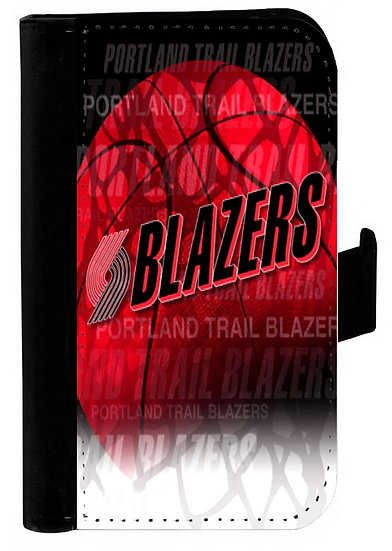 PORTLAND TRAILBLAZERS IPHONE OR GALAXY CELL PHONE CASE WALLET