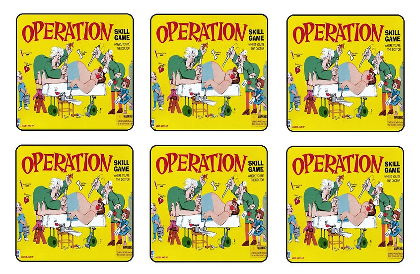 OPERATION BEVERAGE COASTERS