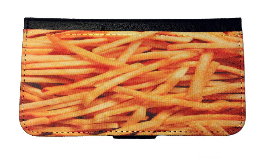 FRENCH FRIES IPHONE OR GALAXY CELL PHONE CASE WALLET