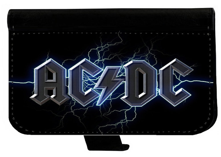 AC/DC IPHONE OR GALAXY WALLET