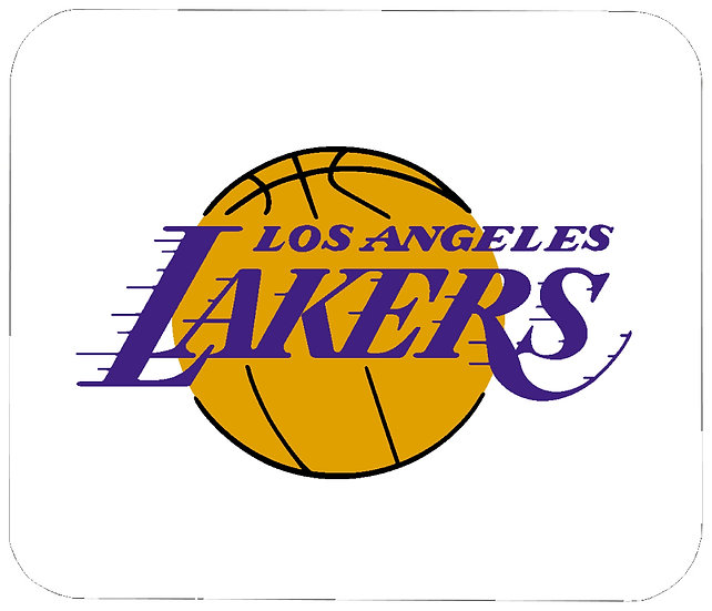LOS ANGELES LAKERS MOUSE PAD - (WH)