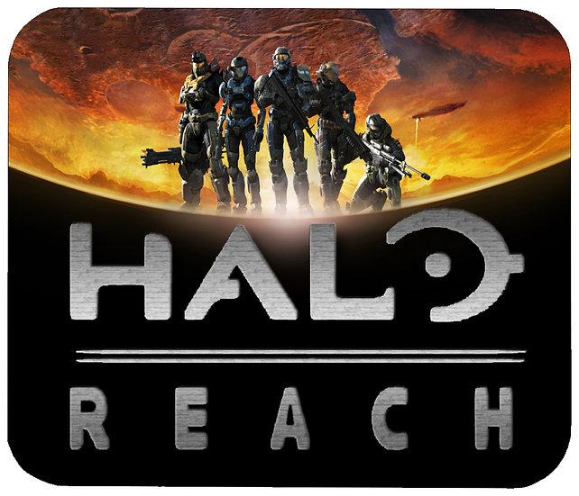 HALO REACH (MOON) MOUSE PAD