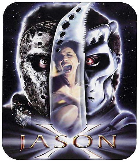 FRIDAY THE 13TH (JASON X) MOUSE PAD