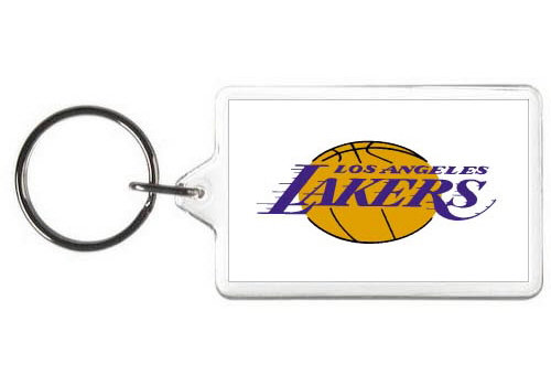 LOS ANGELES LAKERS KEY CHAIN - (WH)