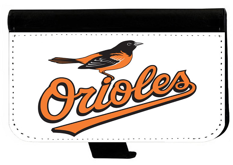 BALTIMORE ORIOLES IPHONE OR GALAXY CELL PHONE WALLET