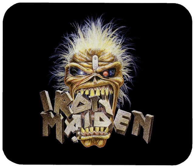 IRON MAIDEN MOUSE PAD - (H)