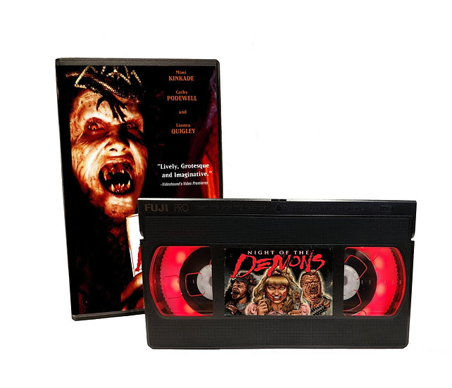 NIGHT OF THE DEMONS VHS MOVIE NIGHT LIGHT