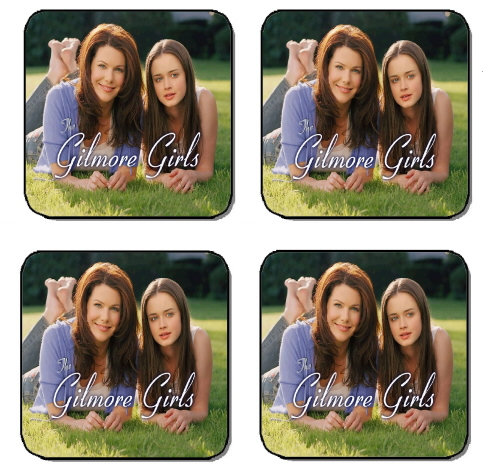 GILMORE GIRLS BEVERAGE COASTERS