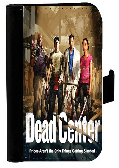 LEFT 4 DEAD (dead center) - LEATHER WALLET