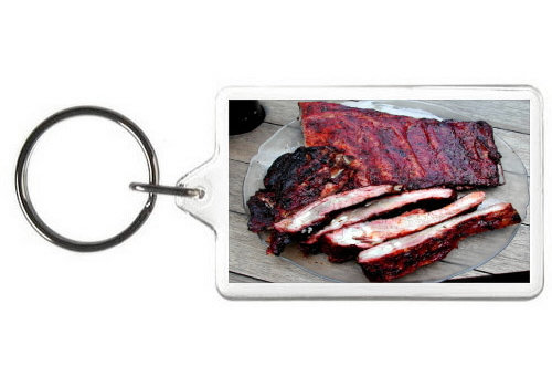 BARBEQUE RIBS KEY CHAIN