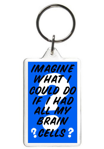 IMAGINE WHAT I COULD DO - KEY CHAIN