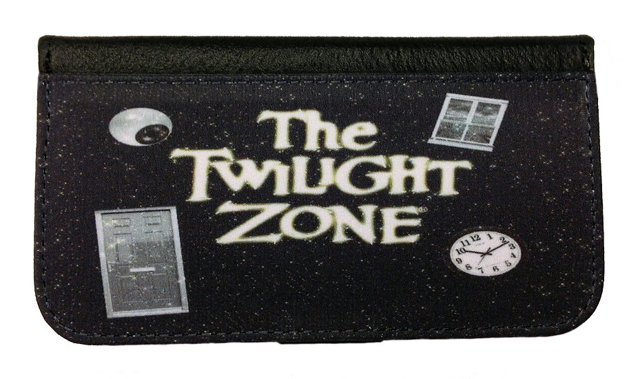 TWILIGHT ZONE (space & time) - LEATHER WALLET