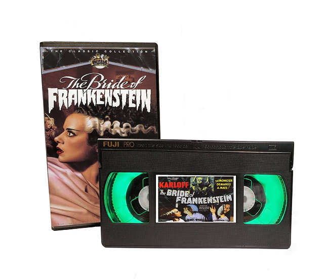 BRIDE OF FRANKENSTEIN VHS MOVIE NIGHT LIGHT