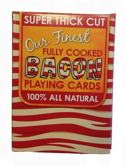 I LOVE BACON PLAYING CARDS