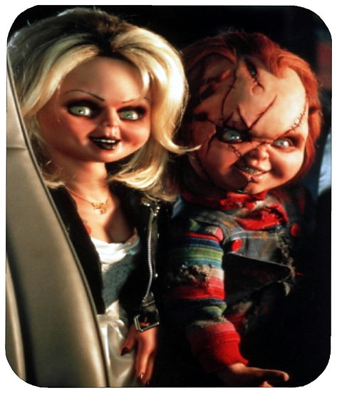 BRIDE OF CHUCKY MOUSE PAD