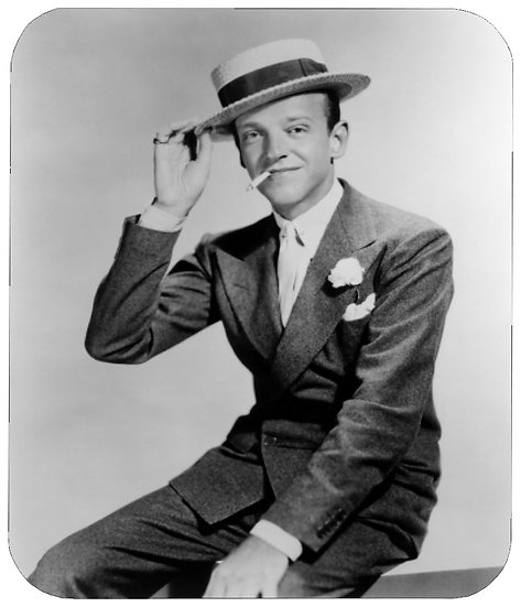 FRED ASTAIRE MOUSE PAD