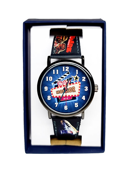 HORROR MOVIES WRIST WATCH or BAND