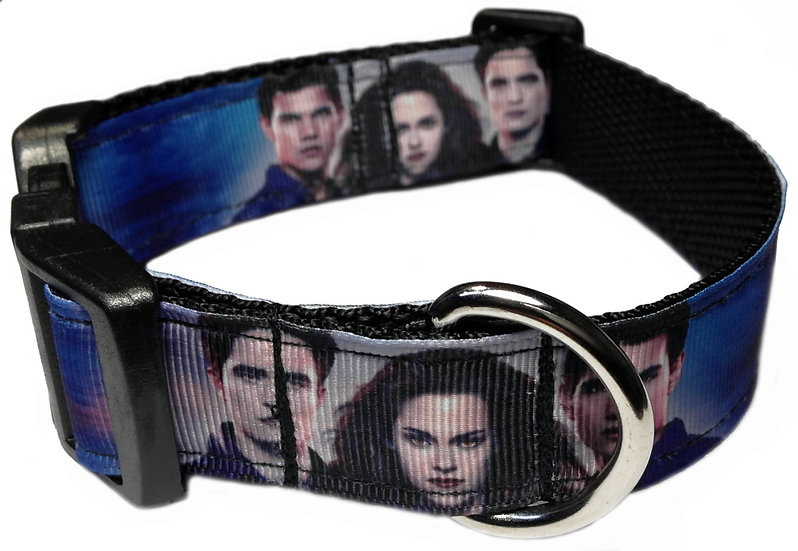 TWILIGHT VAMPIRE DOG COLLAR