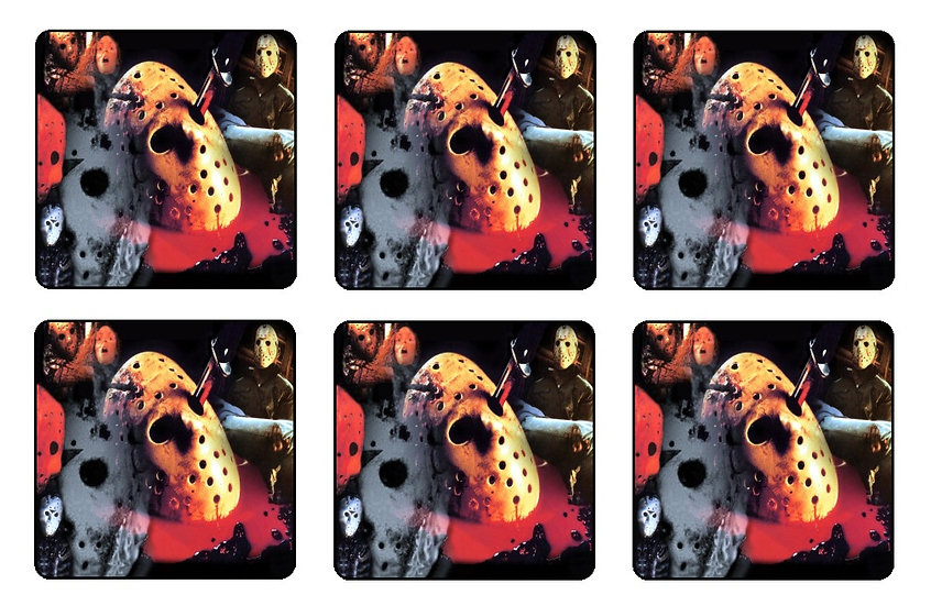 FRIDAY THE 13TH COASTERS - (C)