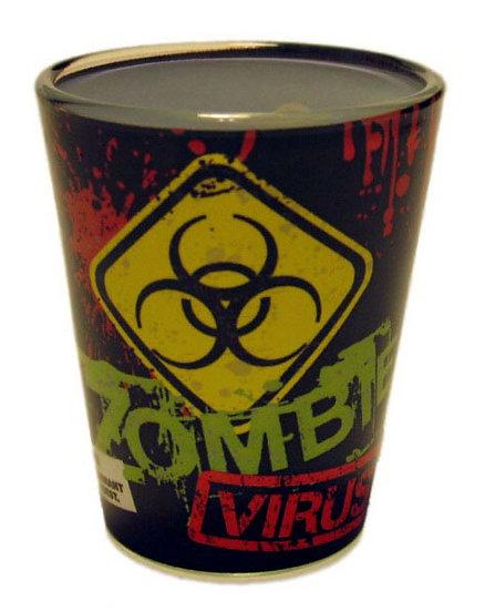 ZOMBIE VIRUS - SHOT GLASS