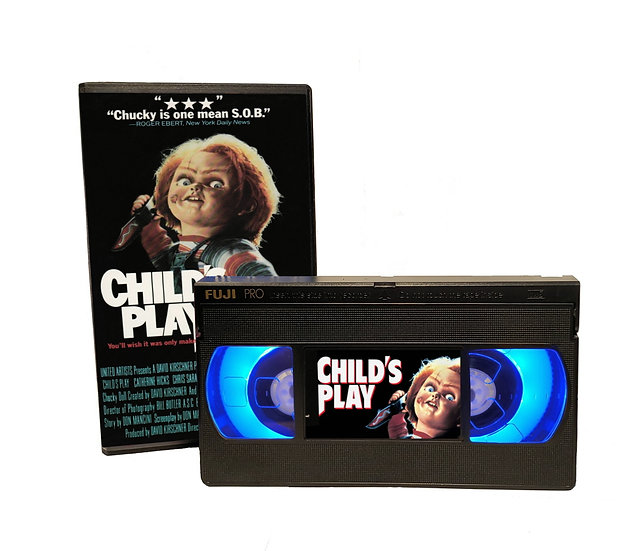 CHILDS PLAY VHS MOVIE NIGHT LIGHT