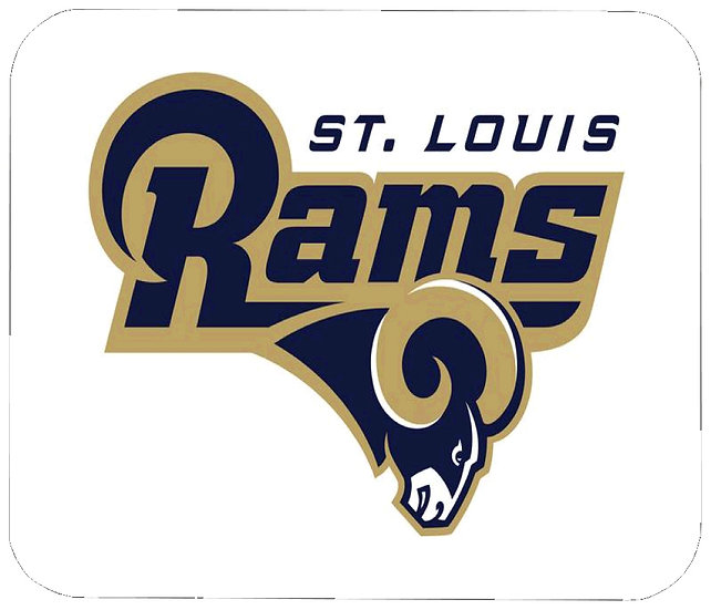 SAINT LOUIS RAMS MOUSE PAD
