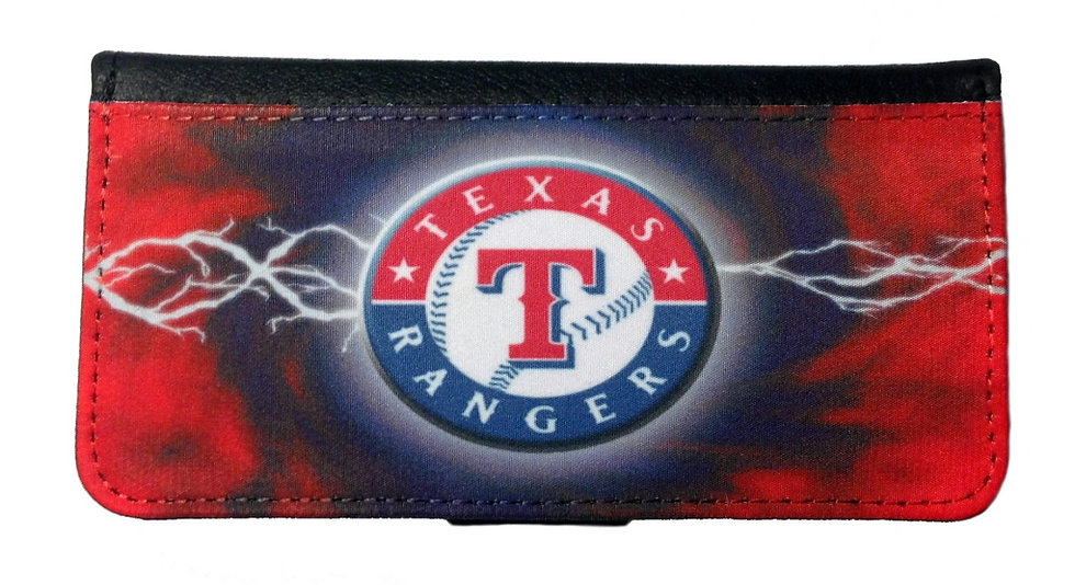 TEXAS RANGERS - LEATHER WALLET