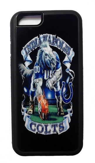INDIANAPOLIS COLTS (blk) - RUBBER GRIP