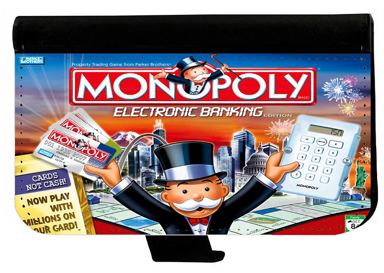 MONOPOLY - LEATHER WALLET