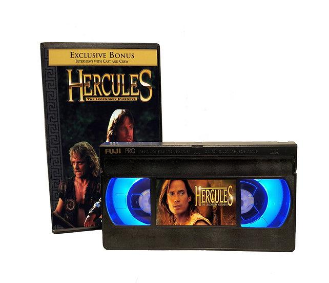HERCULES VHS MOVIE NIGHT LIGHT