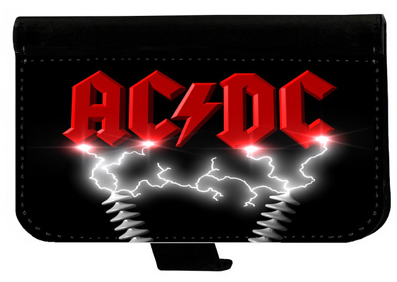 AC/DC (rd) - LEATHER WALLET