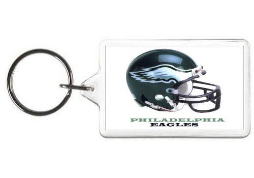 PHILADELPHIA EAGLES KEY CHAIN - (WH)