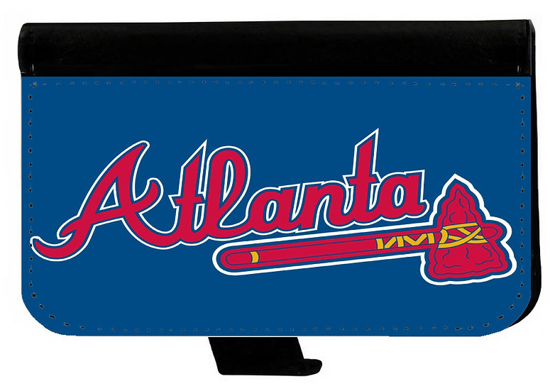 ATLANTA BRAVES (bl) - LEATHER WALLET