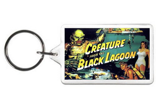 CREATURE FROM THE BLACK LAGOON KEYCHAIN - (COL)