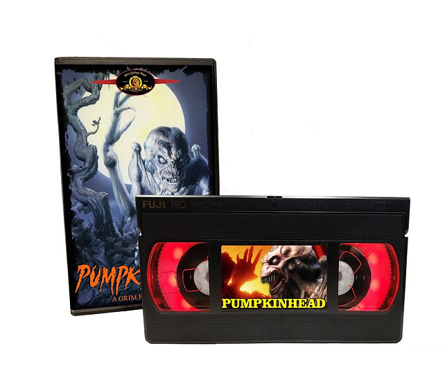 PUMPKINHEAD VHS MOVIE NIGHT LIGHT
