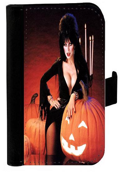 ELVIRA (pumpkin) - LEATHER WALLET