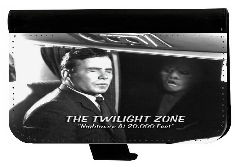 TWILIGHT ZONE (20,000 ft) - LEATHER WALLET