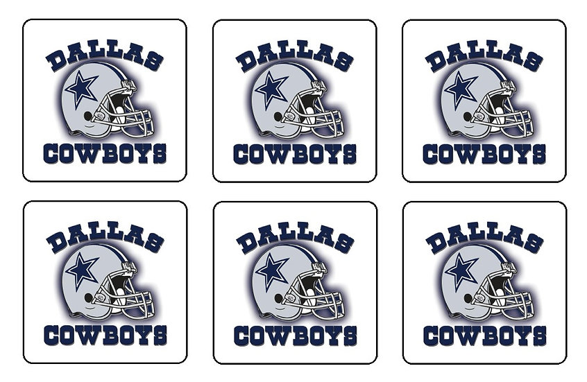 DALLAS COWBOYS BEVERAGE COASTERS