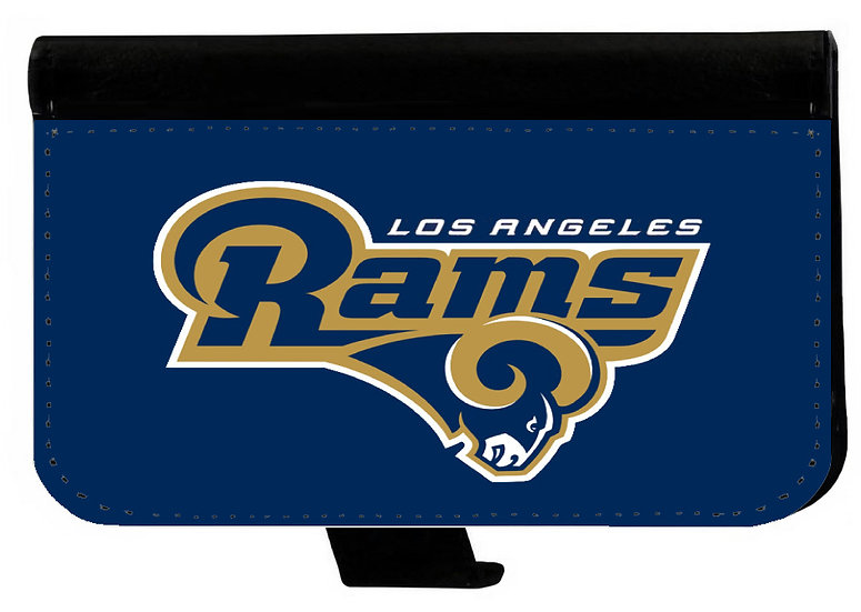 LOS ANGELES RAMS IPHONE OR GALAXY CELL PHONE CASE WALLET