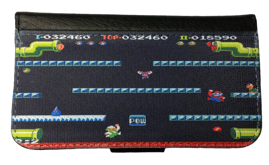 MARIO BROTHERS (gm) - LEATHER WALLET