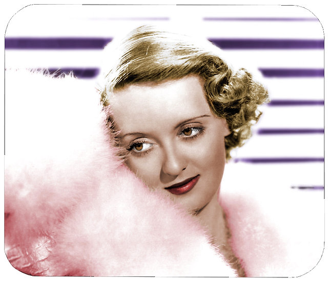 BETTY DAVIS MOUSE PAD
