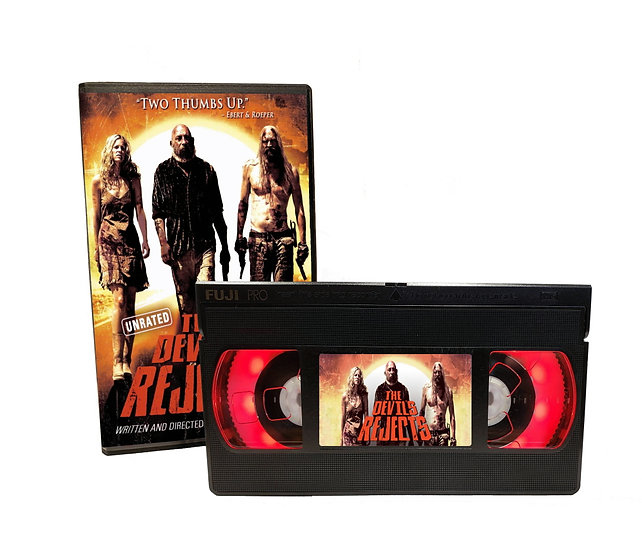 DEVILS REJECTS VHS MOVIE NIGHT LIGHT