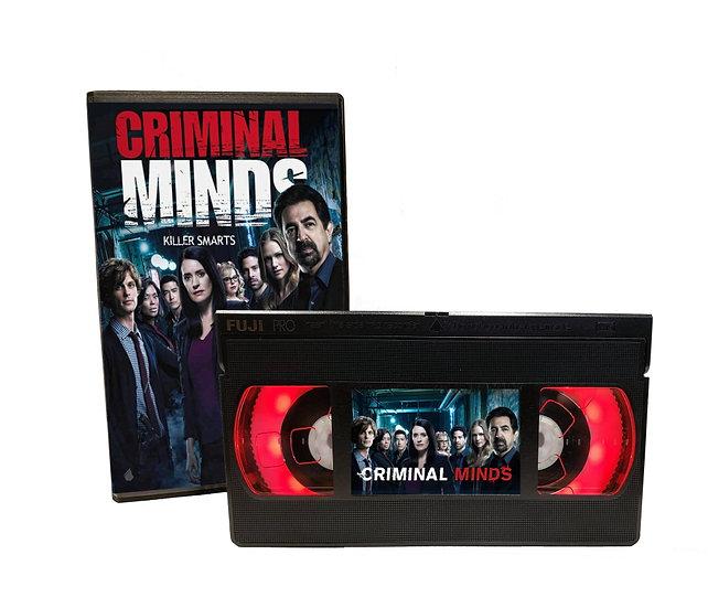 CRIMINAL MINDS VHS MOVIE NIGHT LIGHT
