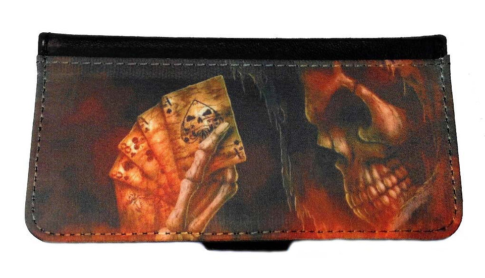 EVIL DEMON - LEATHER WALLET
