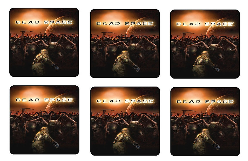 DEAD SPACE BEVERAGE COASTERS