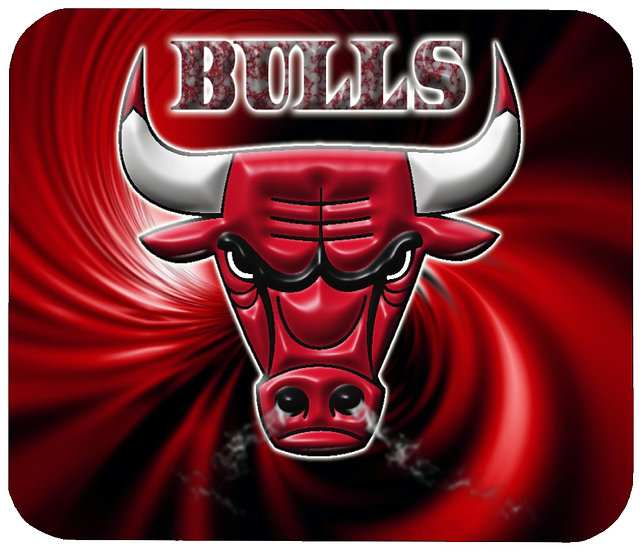 CHICAGO BULLS MOUSE PAD - (002)