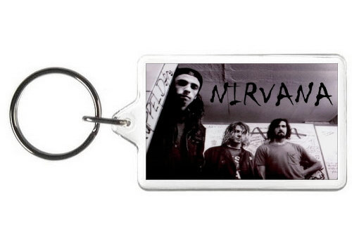 NIRVANA KEY CHAIN