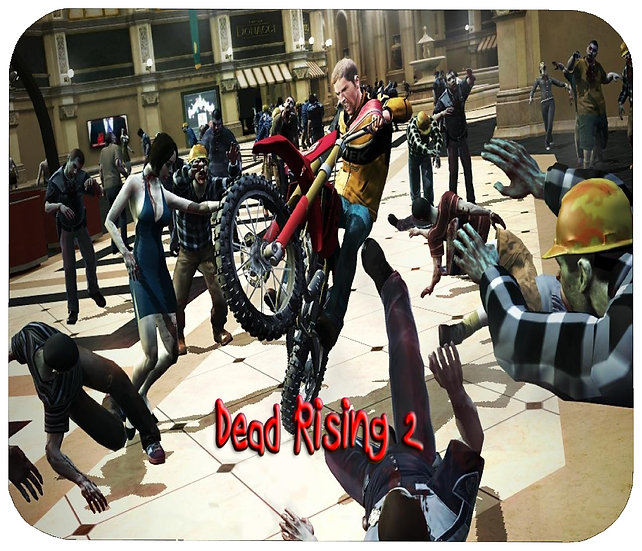 DEAD RISING 2 MOUSE PAD